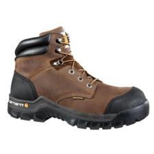 Carhartt Mens 6in. Rugged Flex Brown Waterproof Boot CMF6380
