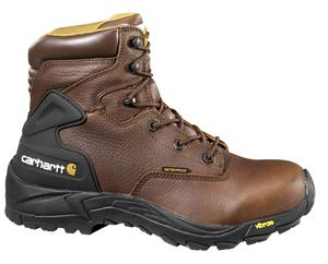 Carhartt Men's 6 in.Waterproof Soft Toe Hiker Work Boots