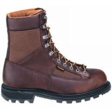 Carhartt Men's 8 in. Low Heel Waterproof  Steel Toe Logger Boots CML8250