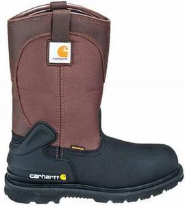 Carhartt Men's 11 in.Waterproof  Insulated Soft Toe Pull-On Boots
