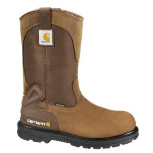 Carhartt Men's 11 in.Waterproof  Steel Toe Wellington Work Boots