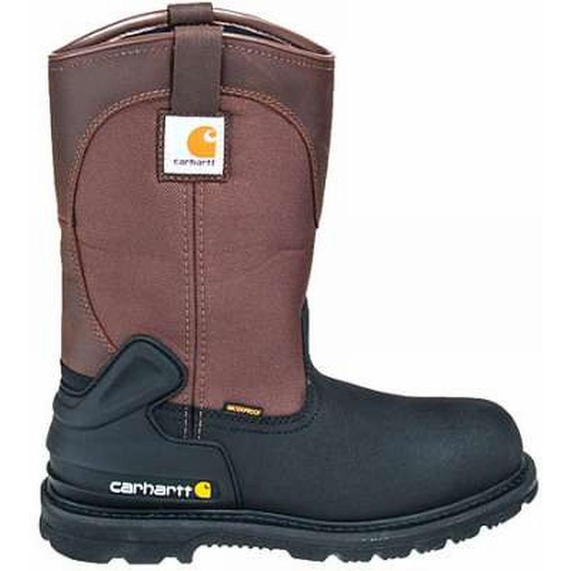 Carhartt 11 in.Waterproof  Insulated Steel Toe Pull-On Boots