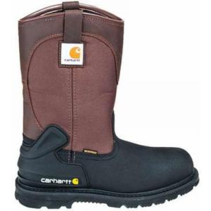 Carhartt Men's 11 in.Waterproof  Insulated Steel Toe Pull-On Boots
