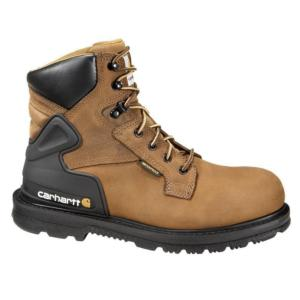 Carhartt Men's 6 in.Waterproof Bison Harness Steel Toe Work Boots - Brown