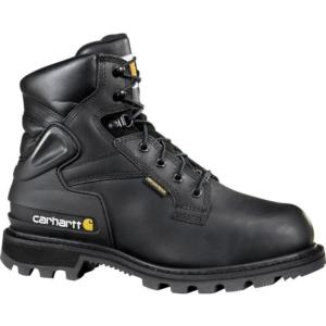 Carhartt Men's 6 in. Waterproof  Steel Toe Met Guard Work Boots
