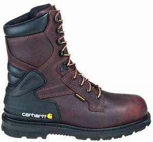 Carhartt Men's 8 in.Waterproof  Insulated Soft Toe Work Boots