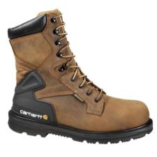 Carhartt Men's 8 in.Waterproof Steel Toe Work Boots CMW8200