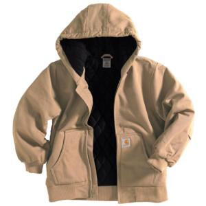 f32a39f3 CP8417-DKT. Carhartt Youth Boys' Hooded Quilted Lined Active Jacket ...