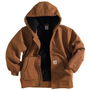 800ed295c7d79 CP8417. Carhartt Youth Boys  Hooded Quilted Lined Active Jacket