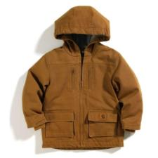 Carhartt Big Kids Sherpa Lined Hooded Coat Sizes 8-20 CP8419BK