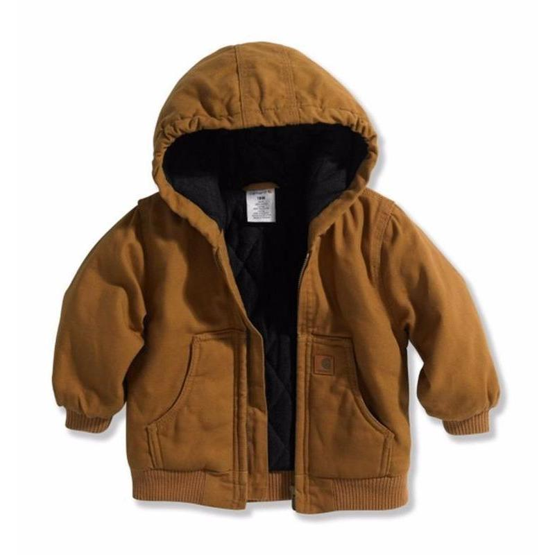 Carhartt Toddler Hooded Quilt Lined Jackets Sizes 2T-4T