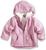 Carhartt Toddler Girls' Redwood Sherpa Lined Duck Jacket Sizes 2T-4T CP9443LK