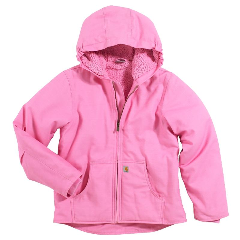 Carhartt Youth Girls' Sherpa Lined Redwood Jacket CP9456