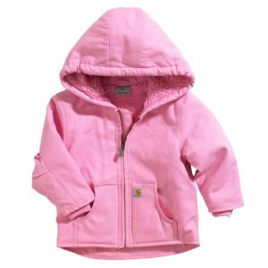 Carhartt Toddlers Sherpa Lined Redwood Jacket