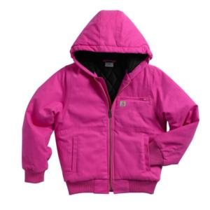 544ec8dfa5d Carhartt Youth Girls' Flannel Quilt Lined Wildwood Jacket (CP9499)