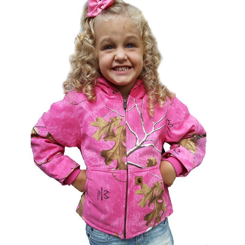 Carhartt Little Girls Redwood Jacket