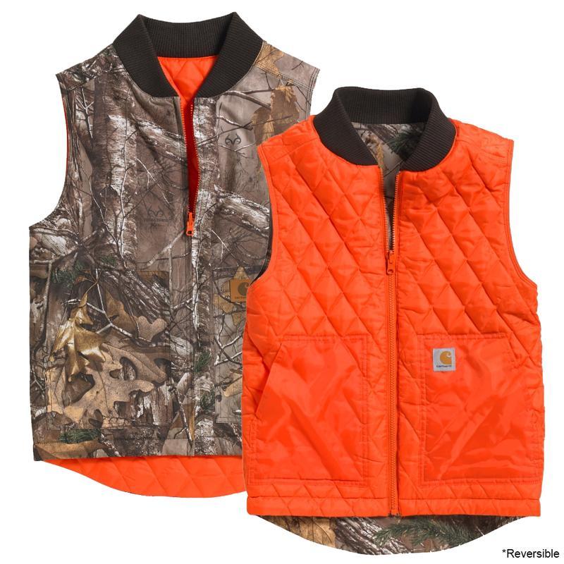 510e117fb Carhartt Youth Boys' Reversible Camo Vest