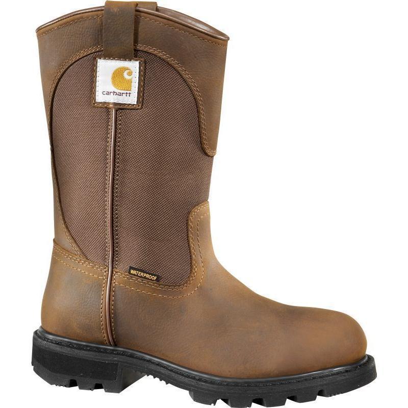Carhartt 11 in. Bison Waterproof  EH Soft Toe Wellington