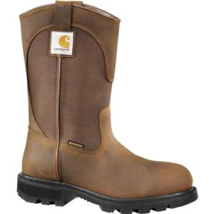 Carhartt Women's 11 in. Bison Waterproof  EH Steel Toe Wellington Work Boots