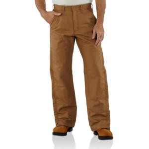 Carhartt  Flame-Resistant Midweight Canvas Waist Overall/Quilt-Lined