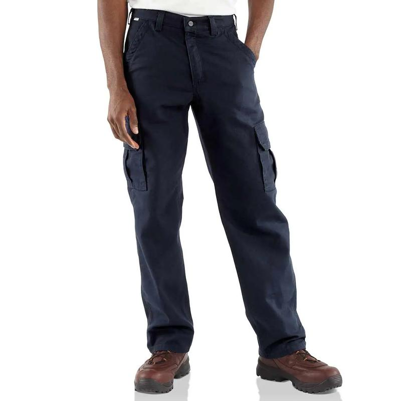 Carhartt Men?s Flame-Resistant Canvas Cargo Pant-Irregular
