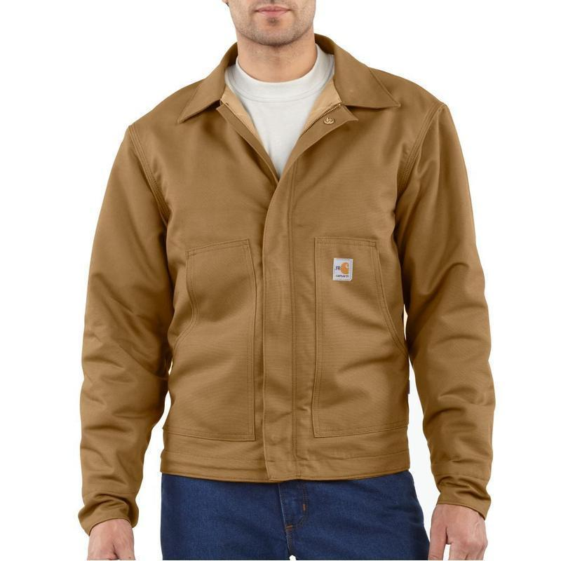 Men S Flame Resistant Midweight Canvas Dearborn Jacket Frj164