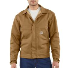 Men's  Flame-Resistant Midweight Canvas Dearborn Jacket FRJ164