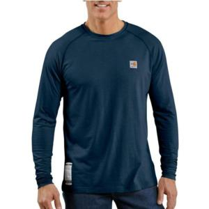 Men's Flame-Resistant Work-Dry® Long -Sleeve T-Shirt