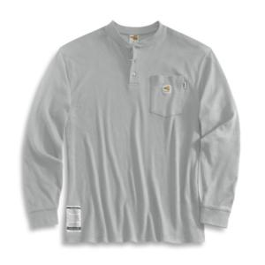 Carhartt  Flame-Resistant Long-Sleeve Henley