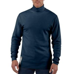 Carhartt Men's Flame-Resistant Long-Sleeve Mock Turtleneck