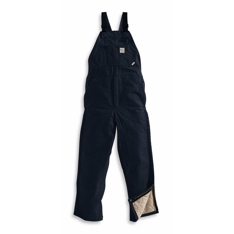 Carhartt Flame-Resistant Duck Bib Overall/Quilt Lined