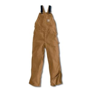Carhartt Flame-Resistant Duck Bib Overall/Unlined