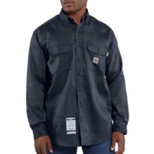 Carhartt Men's Flame-Resistant Work-Dry® Lightweight Twill Shirt FRS003