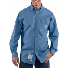 Carhartt Men's Flame-Resistant Chambray Shirt FRS004