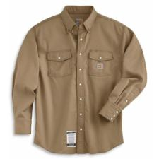 Carhartt Flame-Resistant Snap-Front Twill Shirt FRS006