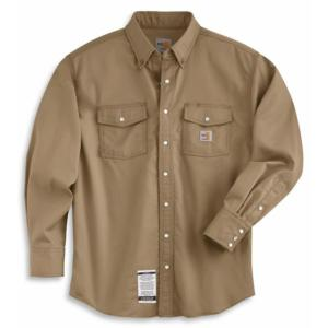 Carhartt Flame-Resistant Snap-Front Twill Shirt