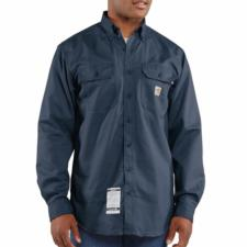 Carhartt  Flame-Resistant Twill Shirt with Pocket Flap FRS160