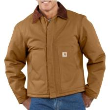 Carhartt Duck Traditional -  Arctic Quilt Lined Jackets-Irregular J002irr