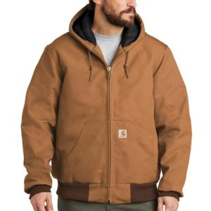 Carhartt Duck Quilted Flannel Lined Active Jackets - Irregular
