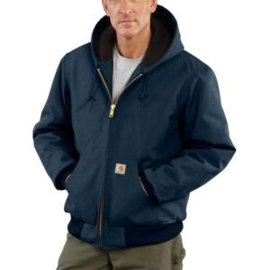 Carhartt Men's Duck Quilted Flannel Lined Active Jac/Jackets