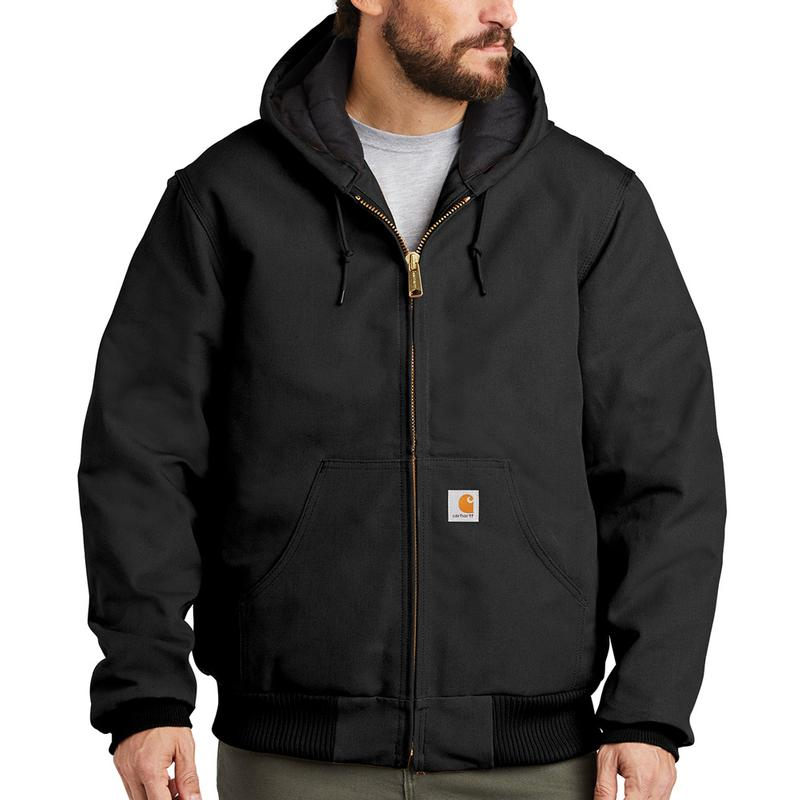 5ed622332019 Carhartt Duck Quilted Flannel Lined Active Jackets - Irregular J140irr