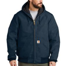 Carhartt Duck Quilted Flannel Lined Active Jackets - Irregular J140irr