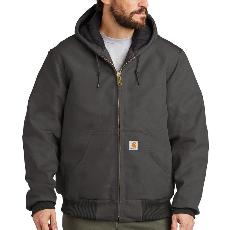Carhartt Duck Quilted Flannel Lined Active Jackets - Irre...