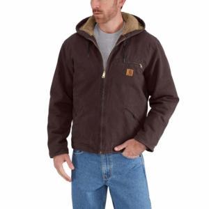 Carhartt Men's Sandstone Sherpa Lined Sierra Jackets