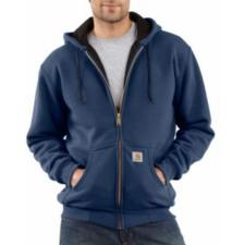 Carhartt Men's 12 oz. Thermal-Lined Hooded Zip-Front Sweatshirts J149