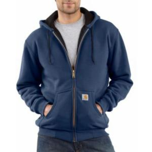 Carhartt Men's 12 oz. Thermal-Lined Hooded Zip-Front Sweatshirts