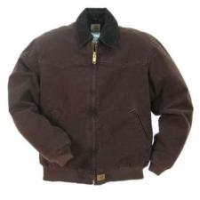 Carhartt Men's Sandstone Duck Quilted Flannel Lined Santa Fe Jackets J14