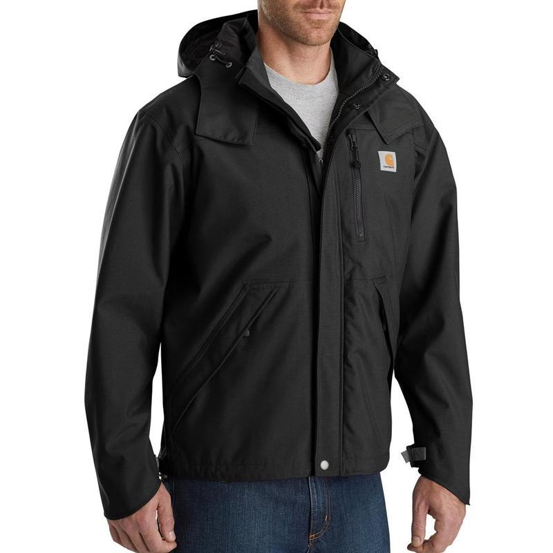 Carhartt Men's Waterproof Breathable Rain Jackets J162