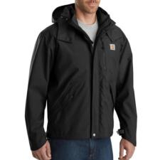 Carhartt Men's Waterproof Breathable Rain Jackets J162