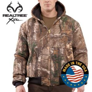Carhartt Men's WorkCamo APQuilt Flannel Lined  Active Jackets